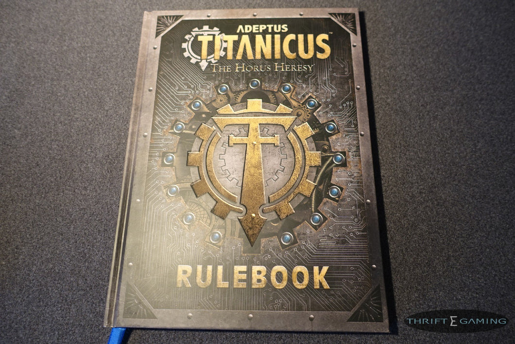 Titanicus Rulebook The Horus Heresy, Warhammer 40k