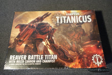 Load image into Gallery viewer, Titanicus - Reaver Battle Titan w. Melta Cannon NIB, Warhammer 40k'