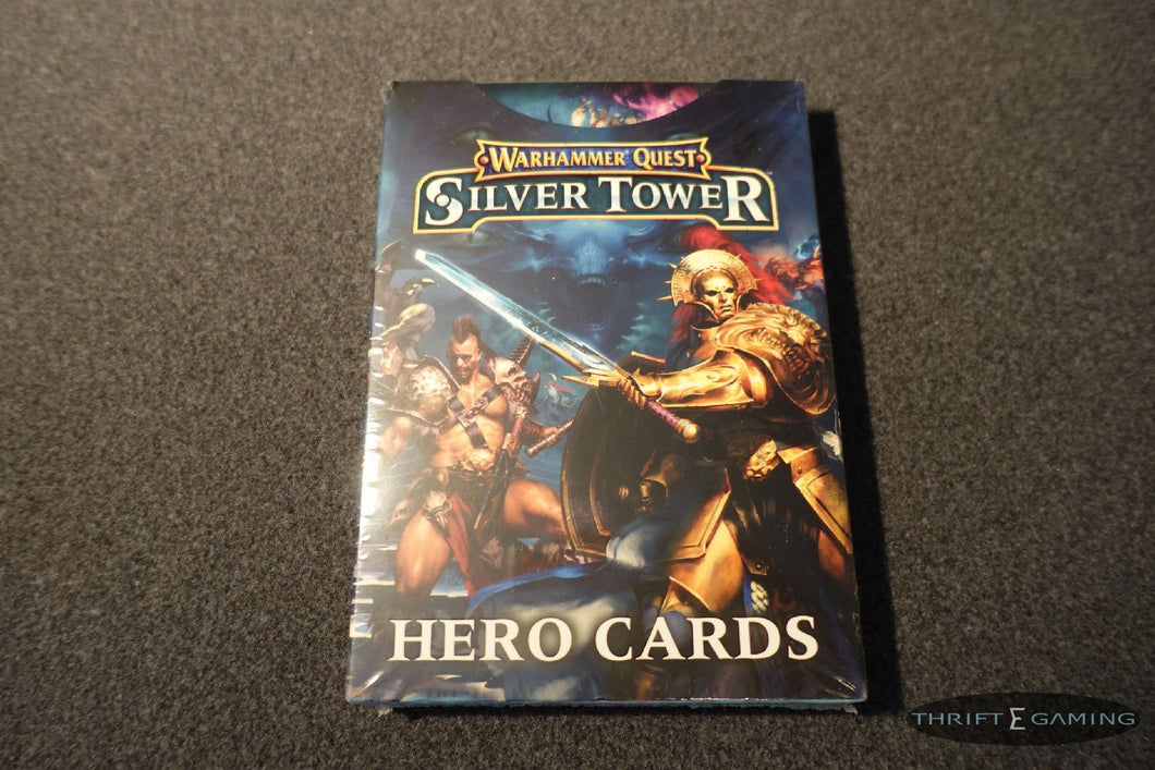 Warhammer Quest - Silver Tower Hero Cards - NIB