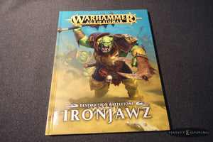 Ironjawz Destruction Battletome