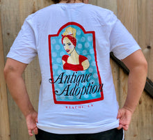 Load image into Gallery viewer, Antique Adoption White T-Shirt