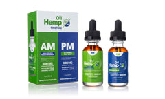 Combo Hemp AM/PM Broad Spectrum Hemp Extract Oil Tincture