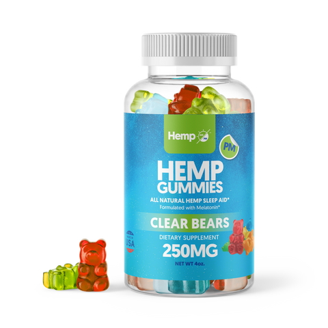Hemp Infused Gummy Bears from Hemp PM