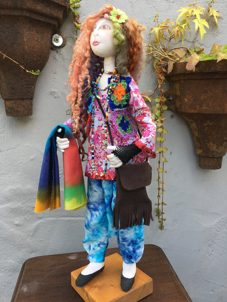 Glastonbury Girl - new doll Sept 2017.