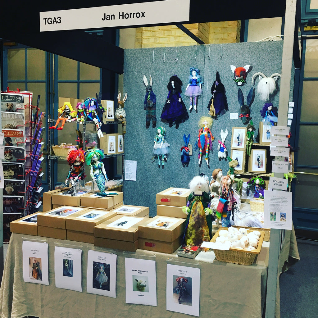 Knitting and Stitching Show October 2017