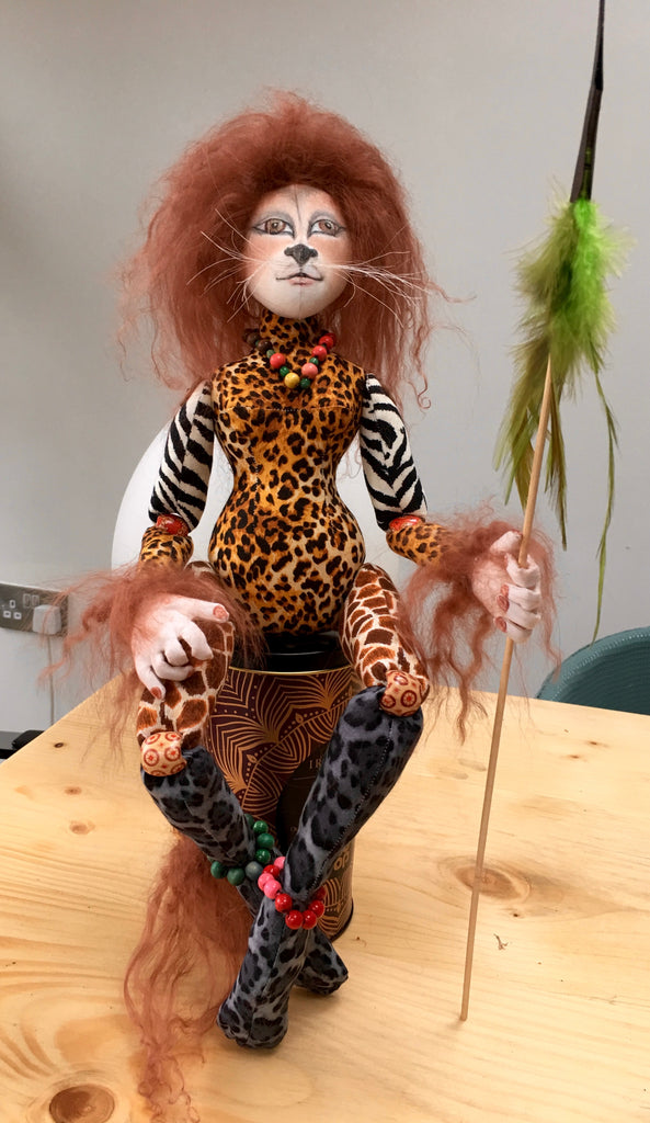 Safari Girl - new doll made December 2017