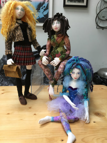 3 DAY WORKSHOP CLOTH DOLL MAKING JULY 4/5/6TH 2020
