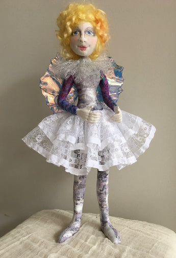 Celeste, A Christmas Fairy by Jan Horrox as a Kit.