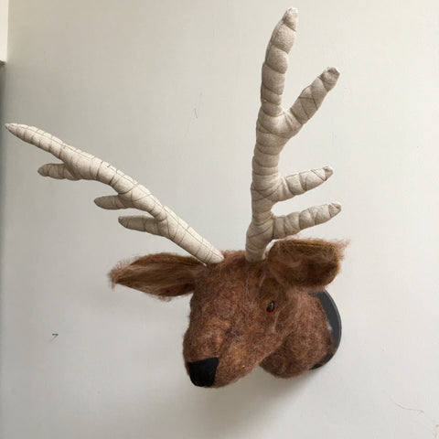 Stag Trophy Head - made by Jan Horrox