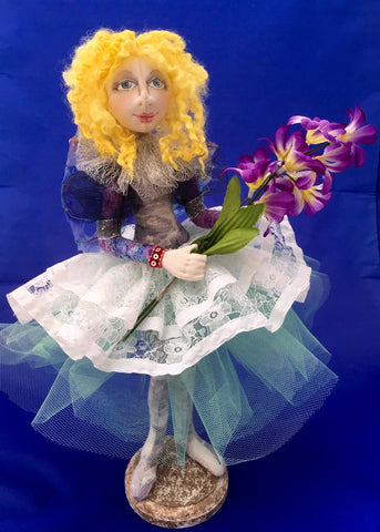 Celeste - a Fairy Doll made by Jan Horrox