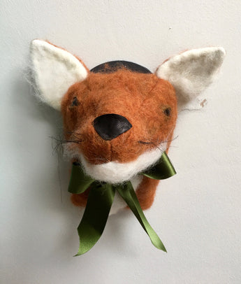 Trophy Head Fox made by Jan Horrox