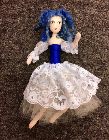 Bluebell - a FAIRY DOLL made by Jan Horrox