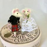 Wedding Topper Mouse Couple - customised costume