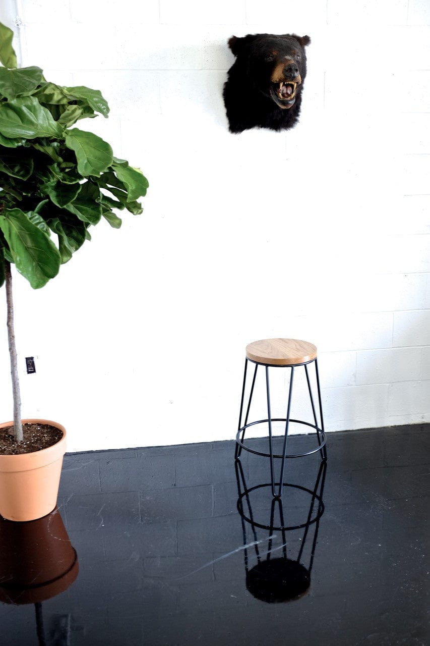 Hairpin Leg Stool