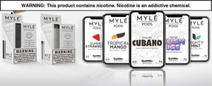 Buy Myle pods in the UAE