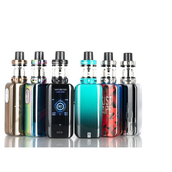 Authentic LUXE NANO 80W & SKRR-S MINI TANK KIT - VAPORESSO - Vape Marche