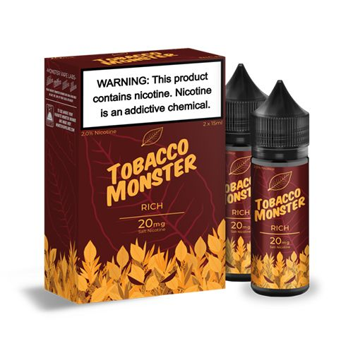 RICH TOBACCO MONSTER SALTNIC - Vape Marche