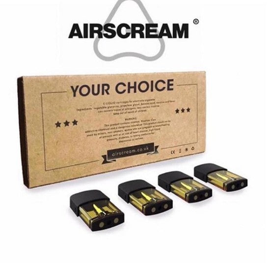 AIRSCREAM AIRSPOPS PODS (PACK 4 PODS)