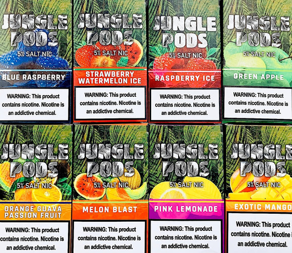 JUNGLE PODS JUUL Compatible - Buy JUNGLE Pods in UAE in the Best Price