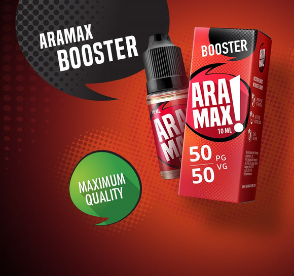 ARAMAX NICOTINE BOOSTER - Vape Marche