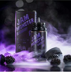 BLACKBERRY BY JAM MONSTER ELIQUID 100ML - 3MG - Vape Marche