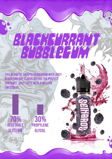 BLACKCURRANT BUBBLEGUM BY SEINBROS - 60ML - Vape Marche