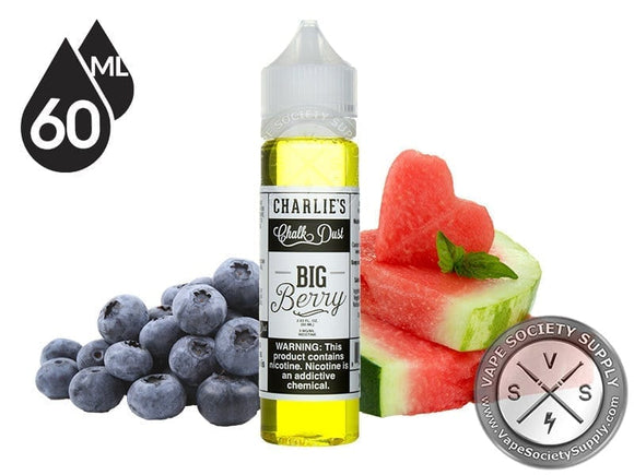 CHARLIE'S CHALK DUST - BIG BERRY BLUEBERRY WATERMELON - 60ML