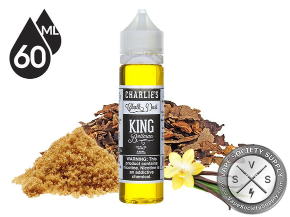 CHARLIE'S CHALK DUST - KING BELLMAN BROWN SUGAR TOBACCO VANILLA - 60ML