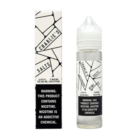 CHARIE'S SALT - STRAWBERRY KIWI ICE - 60ML