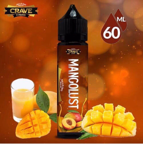 MANGOLUST - CRAVE 60ML - 0MG - Vape Marche