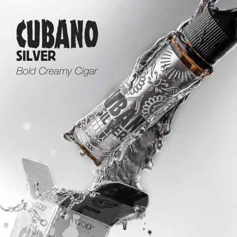 CUBANO SILVER BOLD CREAMY CIGAR BY VGOD - 60ML