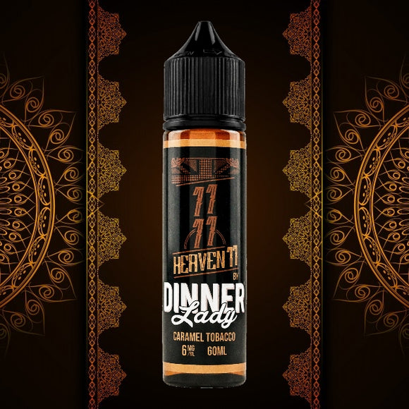 CARAMEL TOBACCO HEAVEN 11 - DINNER LADY - 11/11 - 60ml - 3mg - Vape Marche