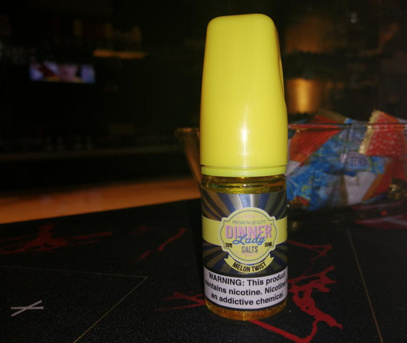 MELON TWIST SALTNIC - DINNER LADY - 30MG - Vape Marche