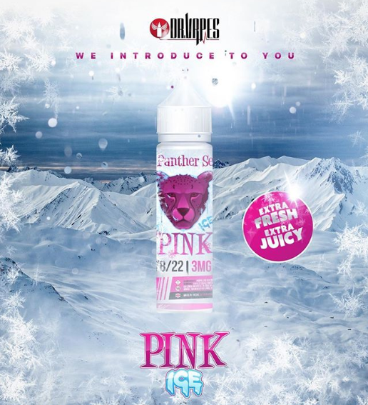 DR VAPES PINK PANTHER ICE - 60ML - 3MG - Vape Marche