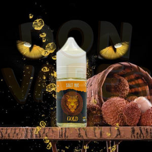 DR VAPES GOLD PANTHER SALTNIC - 30MG - Vape Marche