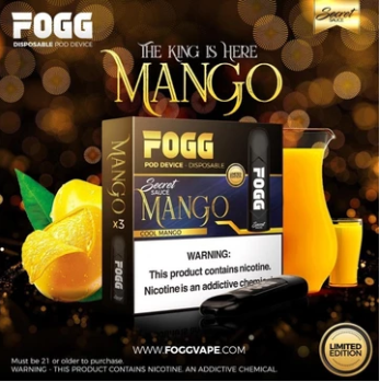 FOGG Secret sauce Disposable Pod Device - Mango - vapemarche.net