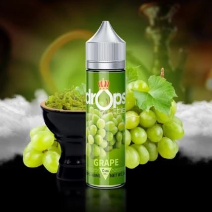 GRAPE (SHISHA) DROPS BY BLIS 60ML - 0MG - Vape Marche