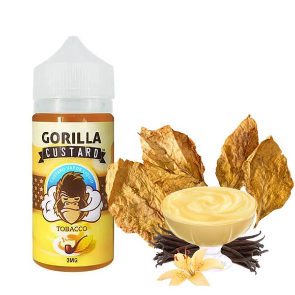 GORILLA CUSTARD TOBACCO 100ML