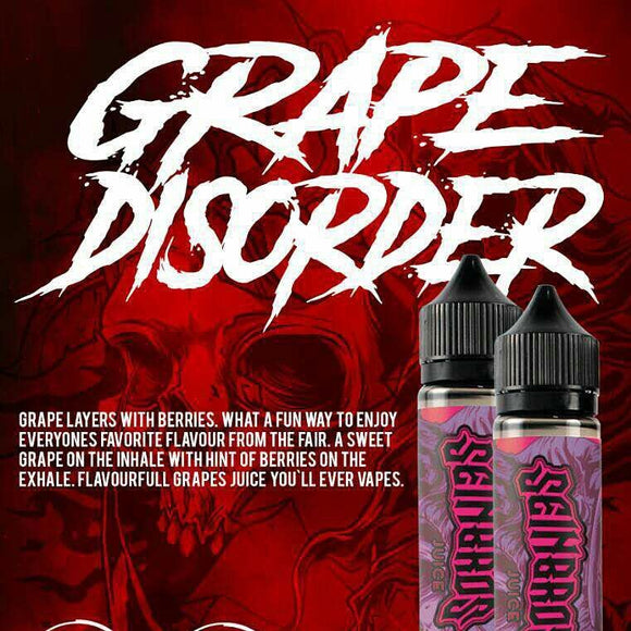 GRAPE DISORDER BY SEINBROS - 60ML - Vape Marche