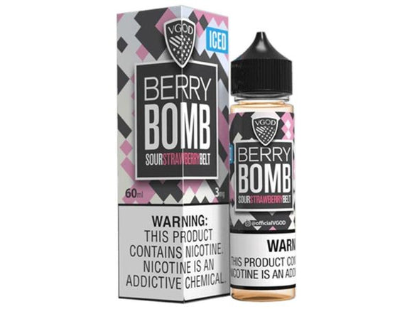 ICED BERRY BOMB - VGOD 60ML - 0MG - Vape Marche