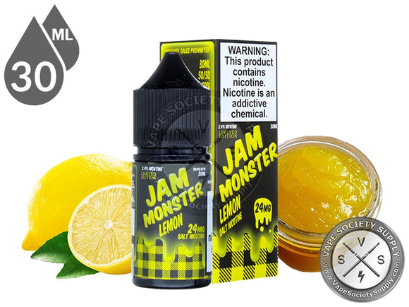 LEMON BY JAM MONSTER SALTNIC - Vape Marche