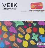 VEIIK MICKO PLUS DISPOSABLE PODS - 20mg - LEMON CITRON - 20mg - Vape Marche