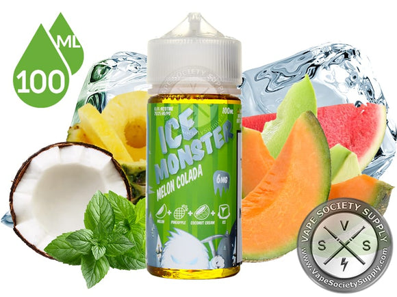MELON COLADA BY ICE MONSTER EJUICE 100ML
