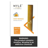 MYLE DISPOSABLE VAPE DEVICE - ICED MANGO - Vape Marche