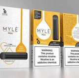 MYLÉ Mini – All-In-One Disposable Nicotine Delivery System - ICED APPLE MANGO - Vape Marche