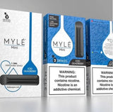 MYLÉ Mini – All-In-One Disposable Nicotine Delivery System - ICED QUAD BERRY - Vape Marche