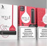 MYLÉ Mini – All-In-One Disposable Nicotine Delivery System - ICED WATERMELON - Vape Marche