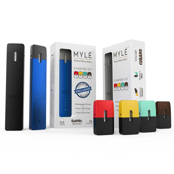 Authentic MYLE STARTER KIT- VARIETY PACK - Vape Marche