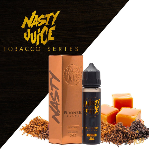 TOBACCO BRONZE BLEND - NASTY 60ML - 3MG - Vape Marche