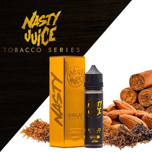 TOBACCO GOLD BLEND - NASTY 60ML - 3MG - Vape Marche